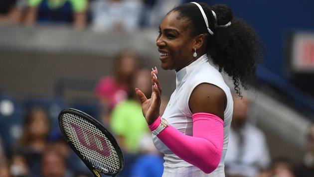 Murray stark, S. Williams braust ins Viertelfinale (Bild: APA/AFP/KENA BETANCUR)