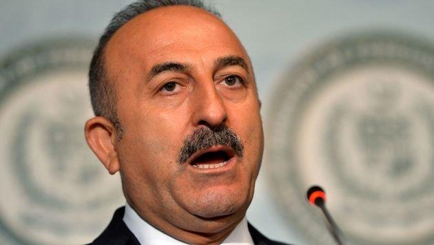Der t�rkische Au�enminister Mevl�t Cavusoglu (Bild: APA/AFP/AAMIR QURESHI)