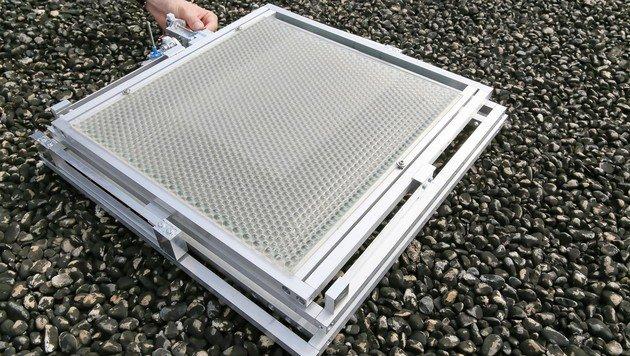 Neue Solarzelle liefert doppelte Ausbeute (Bild: EPFL/Alain Herzog)