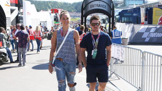 Marcel Hirscher mit Freundin Laura (Bild: Sepp Pail)