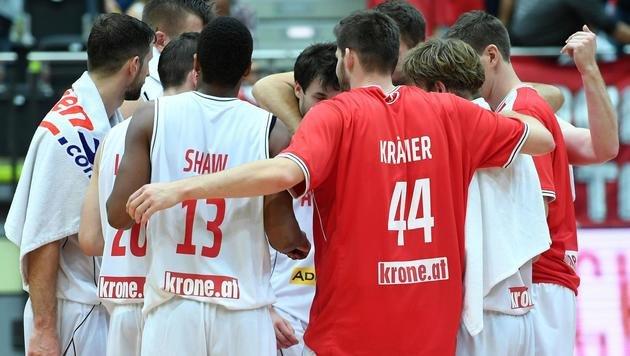 Basketball-Team lässt Dänemark keine Chance (Bild: APA/HELMUT FOHRINGER)