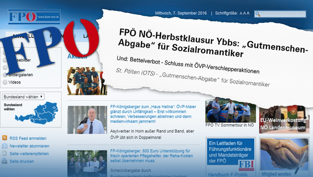 "FPÖ will freiwillige ""Gutmenschen-Abgabe"" (Bild: fpoe-noe.at)"