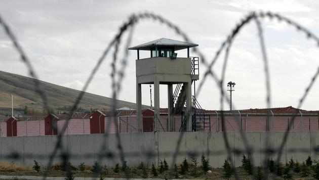 Das Sincan-Gefängnis in der Nähe von Ankara (Bild: AFP)
