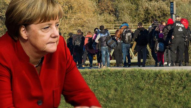 Flüchtlingskrise kostete Deutsche 21,7 Mrd. Euro (Bild: APA/dpa/Peter Kneffel, AP)