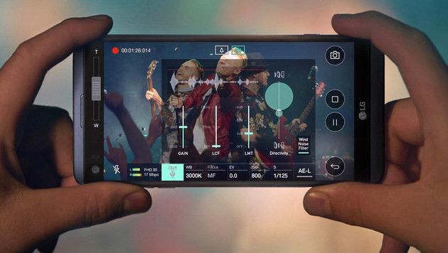 LG V20: Neues Top-Handy für Audiophile enthüllt (Bild: LG)