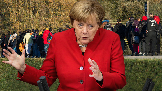 """Merkel: """"Situation heute um ein Vielfaches besser"""" (Bild: APA/dpa/Peter Kneffel, AP)"""