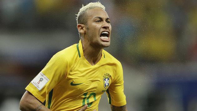 Neymar schießt Brasilien zu Sieg in der WM-Quali (Bild: AP)