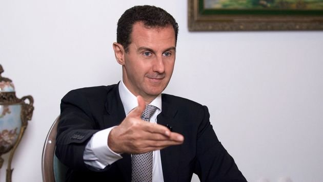 Die UNO ist auf die Kooperation mit Präsident Bashar al-Assad angewiesen. (Bild: APA/AFP/SANA)