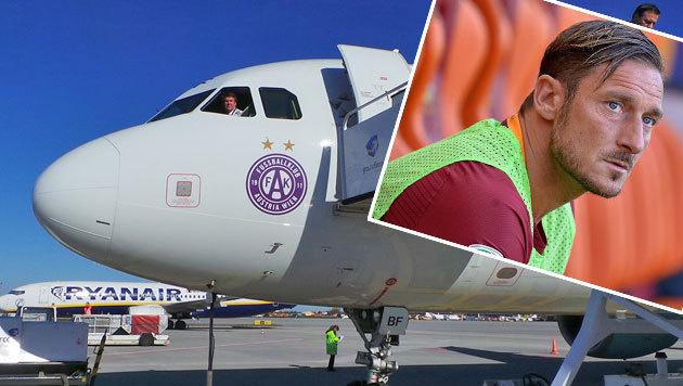 Austrias Reise zu Totti wird zum Kassenschlager (Bild: FK Austria Wien, APA/AFP/FILIPPO MONTEFORTE)