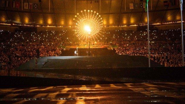 """Fest voller Lebensfreude"" - Paralympics eröffnet (Bild: APA/AFP/YASUYOSHI CHIBA)"