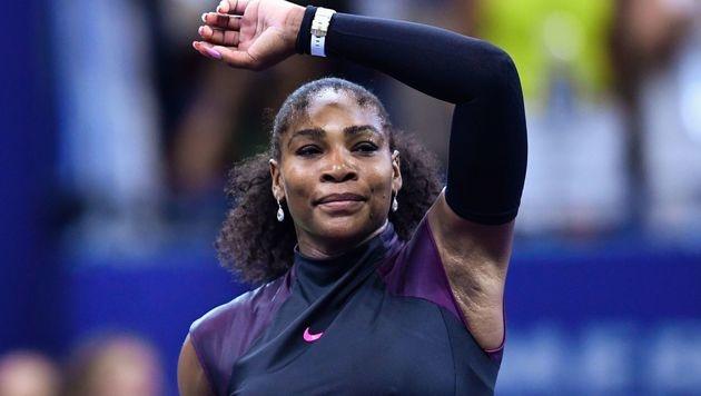 Halep niedergerungen - Serena im Halbfinale (Bild: APA/AFP/EDUARDO MUNOZ ALVAREZ)