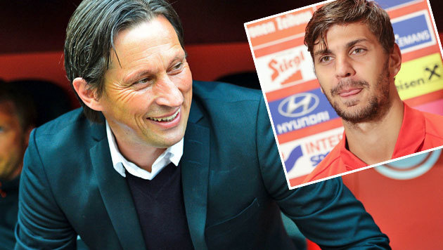 "Schmidt schw�rmt: ""Dragovic tut uns extrem gut"" (Bild: APA/AFP/SASCHA SCHURMANN)"