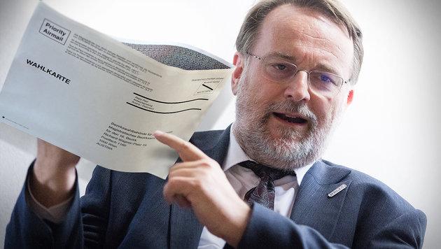 Der Leiter der Wahlabteilung im Innenministerium, Robert Stein (Bild: APA/GEORG HOCHMUTH)