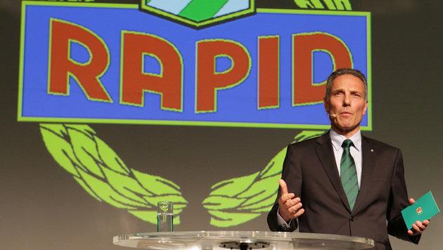 Rapids Krammer: Derzeit noch ein Boss ohne Titel! (Bild: GEPA)