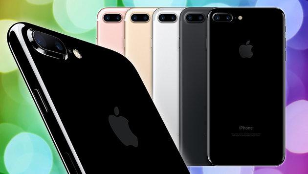 """iPhone 7: Von diesen Handys hat Apple """"abgeschaut"""" (Bild: thinkstockphotos.de, Apple)"""