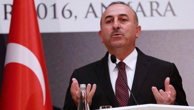 Der türkische Außenminister Mevlüt Cavusoglu (Bild: APA/AFP/ADEM ALTAN)