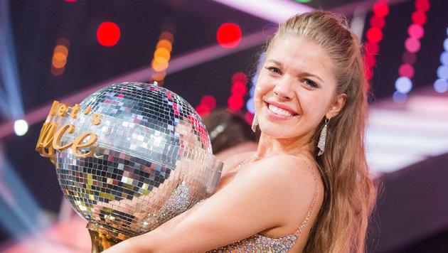 Victoria Swarovski ertanzte sich den Sieg bei 'Let's Dance'. (Bild: APA/dpa/Rolf Vennenbernd)