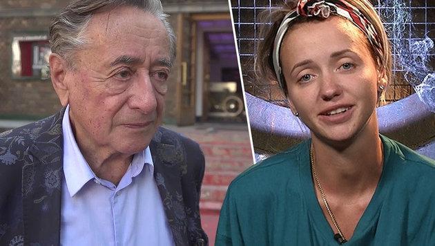 Ist DAS der Anfang vom Ehe-Ende der Lugners? (Bild: krone.tv, Sat.1)
