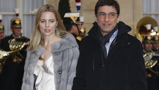 Melissa George und Lebensgefährte Jean David Blanc (Bild: Viennareport)