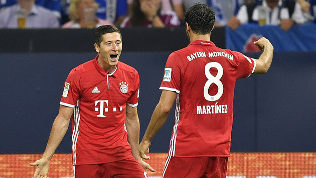 Bayern m�ht sich zu 2:0-Ausw�rtssieg bei Schalke (Bild: AP)