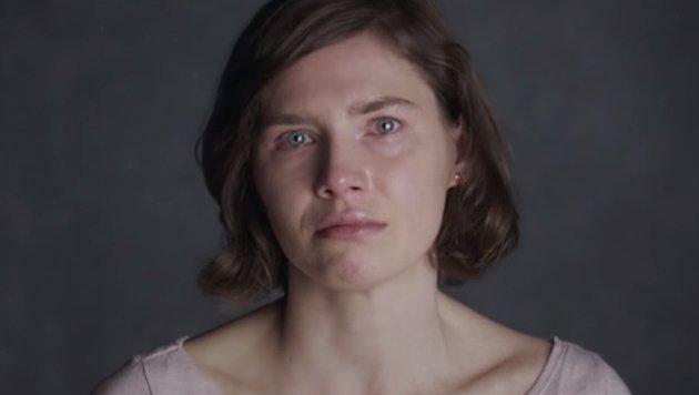 Amanda Knox in der nach ihr betitelten Netflix-Dokumentation (Bild: Netflix, YouTube.com)