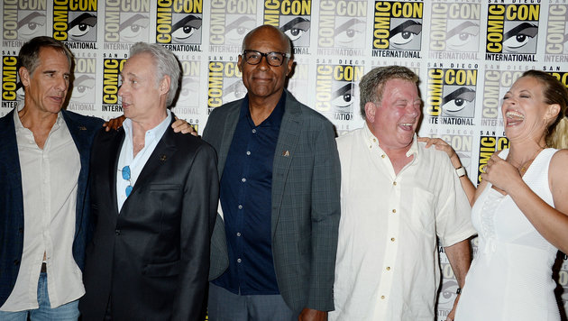 """Die """"Star Trek""""-Stars feierten schon auf der Comic-Con den 50er. (Bild: Viennareport)"""