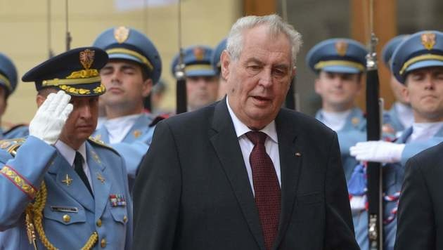 Tschechiens Präsident Milos Zeman (Bild: APA/AFP/MICHAL CIZEK)