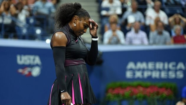 Angelique Kerber als Nummer eins im US-Open-Finale (Bild: AFP)