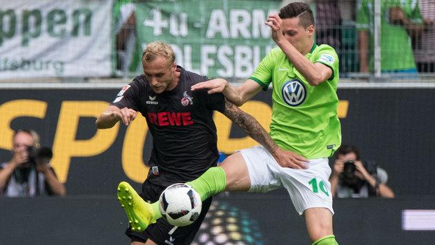 Pohjanpalo-Triple rettet Leverkusen Sieg gegen HSV (Bild: APA/dpa/Peter Steffen)