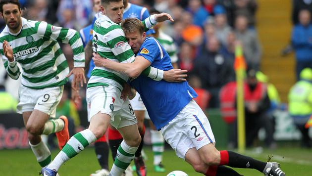 5:1! Celtic fertigt im Derby die Rangers ab (Bild: AP)