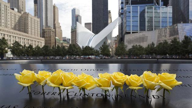 Das World Trade Center Memorial erinnert an die Tausenden Toten. (Bild: AP)