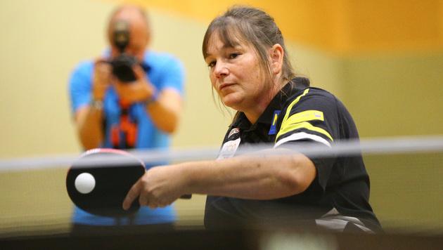 Doris Mader im Achtelfinale ausgeschieden (Bild: GEPA)