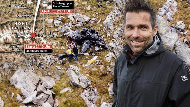 Hannes Arch war bei Todes-Crash nicht betrunken (Bild: Krone Grafik, APA/EXPA/JFK, APA: RED BULL AIR RACE/ANDREAS KOLAR)
