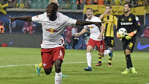 Naby Keita schießt Leipzig zu Heimsieg gegen BVB (Bild: AP)