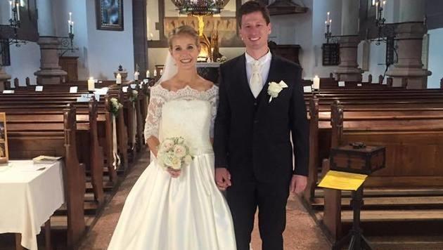 Hannes Reichelt hat seine langjährige Freundin Larissa geheiratet! Herzliche Gratulation! (Bild: facebook.com/Hannes Reichelt)