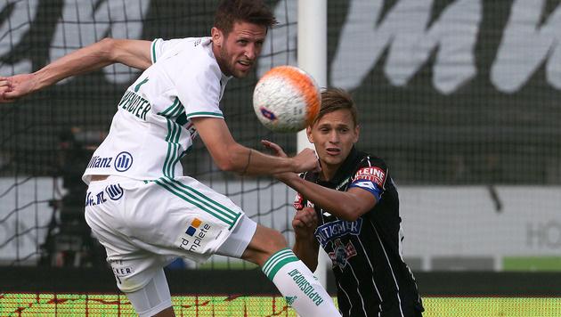 Sturm und Rapid trennen sich im Bundesliga-Hit 1:1 (Bild: GEPA)