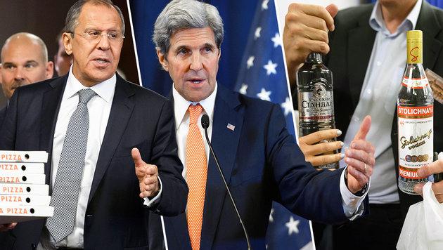 USA und Russland über Waffenruhe in Syrien einig (Bild: AFP/FABRICE COFFRINI)