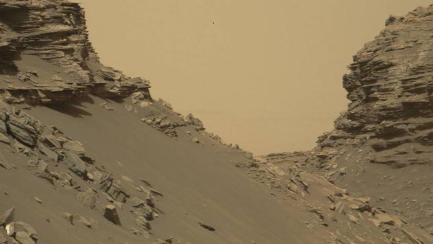 """Neue """"Curiosity""""-Bilder vom Mars (Bild: APA/AFP/NASA/HO)"""