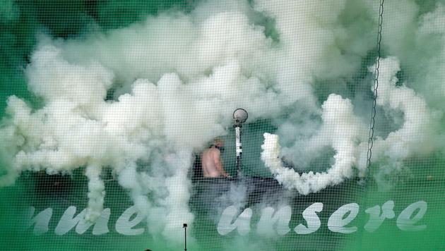 Sturm und Rapid trennen sich im Bundesliga-Hit 1:1 (Bild: GEPA pictures)