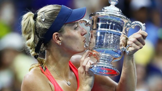 Angelique Kerber triumphiert bei den US Open (Bild: Getty Images)