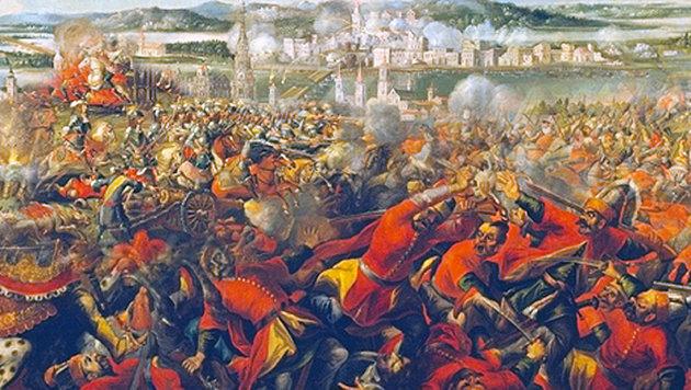 Als Wien von den Türken befreit wurde (Bild: Wikipedia)