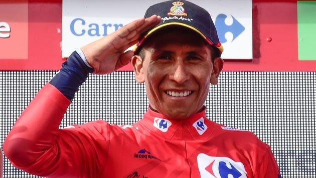 Nairo Quintana erstmals Vuelta-Sieger (Bild: AFP)