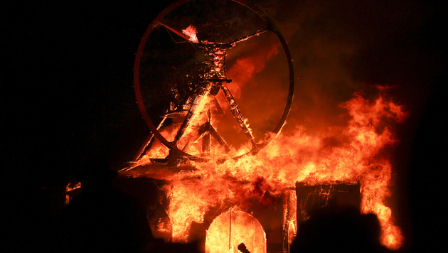 """Burning Man"" (Bild: AP)"