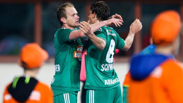 Mario Sonnleitner (links) und Stefan Schwab (Bild: GEPA)