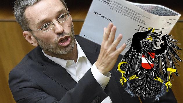 """FPÖ: """"Die Peinlichkeiten nehmen kein Ende"""" (Bild: APA/ROBERT JAEGER, APA/GEORG HOCHMUTH)"""