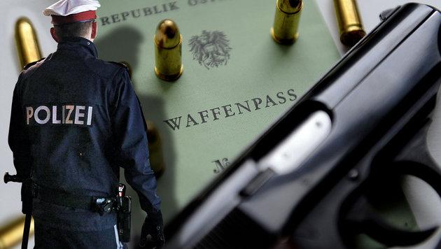 Privatwaffen für Polizisten: Gesetz begutachtet (Bild: APA/Hans Klaus Techt, Reinhard Holl)