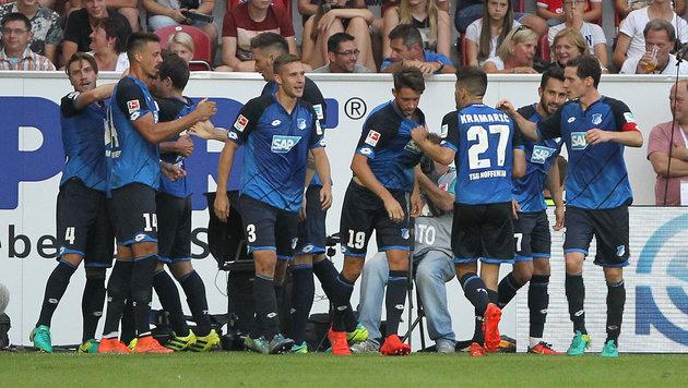 Ekelhaft: Fäkal-Attacke auf Hoffenheim-Fans! (Bild: AFP)