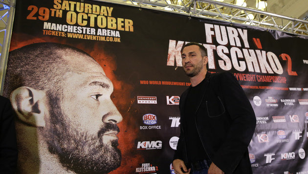 "Klitschko-Management: ""Fury ist kein Thema mehr"" (Bild: Associated Press)"