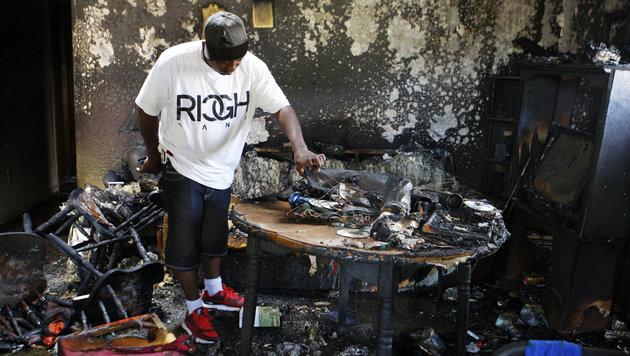Hausbrand löscht US-Großfamilie fast komplett aus (Bild: Associated Press)