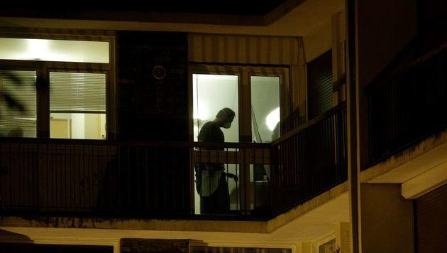 In dieser Wohnung sollen die Anschlagspläne entwickelt worden sein. (Bild: APA/AFP/GEOFFROY VAN DER HASSELT)